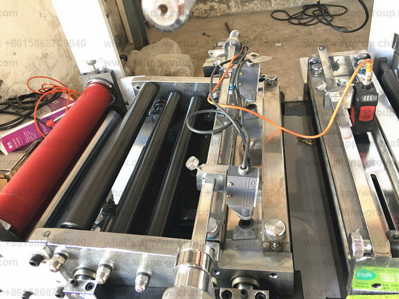 PE Film / Pet Film And Mylar Die Cutter Machine HDPE Film LDPE Film And CPP Film
